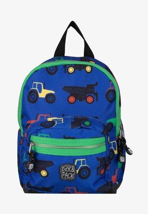 TRACTOR - School bag - blau