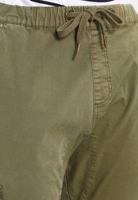 INDICODE JEANS - LEVI - Pantaloni cargo - army - 3