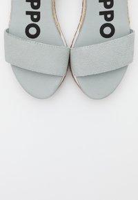 Gioseppo - SARCHI - Platform sandals - azul - 5