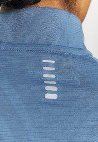 Under Armour - STREAKER HALF ZIP - Long sleeved top - mineral blue - 3