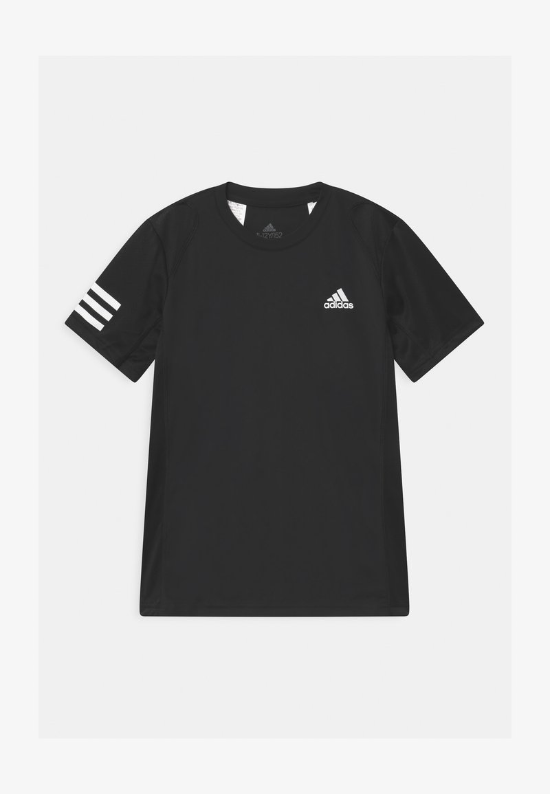 adidas Performance - CLUB UNISEX - Print T-shirt - black/white