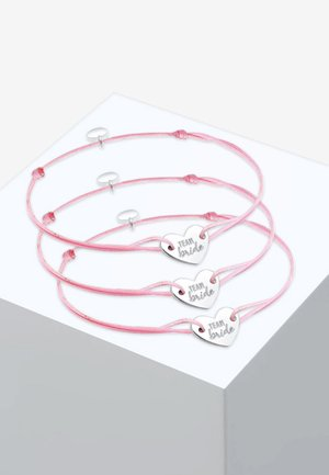 SET - Bracelet - rose-coloured