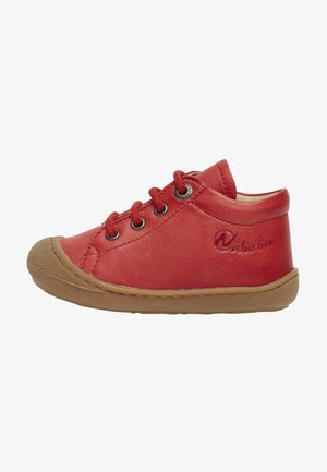 COCOON - Baby shoes - rot