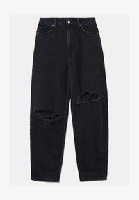 TALLY WEiJL - Straight leg jeans - blk - 0