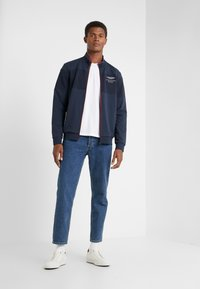 Hackett Aston Martin Racing - TRACK TOP - Felpa aperta - navy - 1