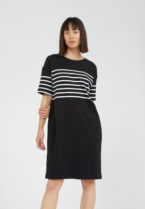TALEKAA  - Jersey dress - black
