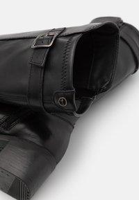 Tamaris - BOOTS - Vysoká obuv - black - 5