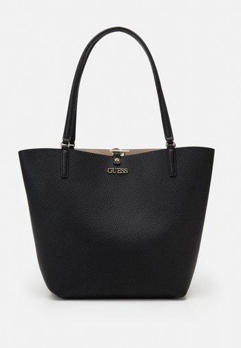 Tote bag - black/stone