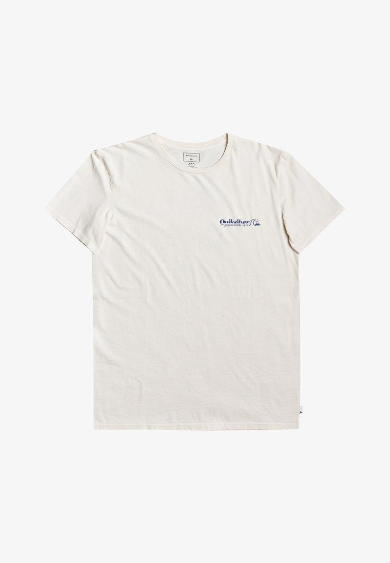Quiksilver - SUN DAMAGE - Print T-shirt - snow white