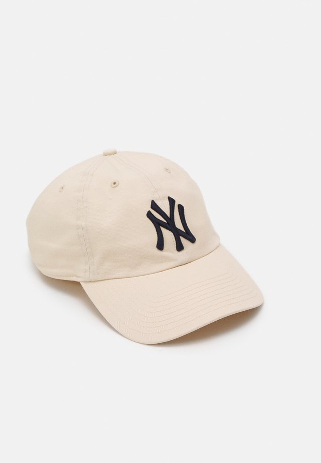 NEW YORK YANKEES CLEAN UP UNISEX - Keps - natural