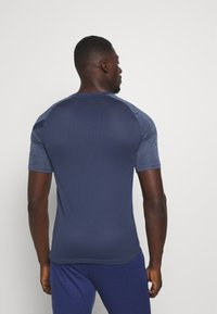 Nike Performance - DRY ACADEMY TOP - Print T-shirt - blue void/white - 2