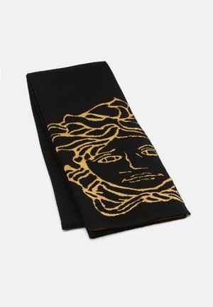 UNISEX - Scarf - black/gold