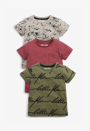 3 PACK  - Print T-shirt - multi-coloured