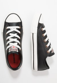 Converse - CHUCK TAYLOR ALL STAR MISSION WARMTH - Trainers - black/jasper red/vintage white - 1