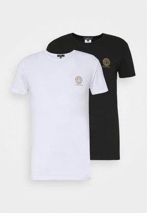INTIMO UOMO 2 PACK - Undershirt - bianco/nero