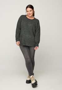 Zizzi - Jumper - dark grey - 1