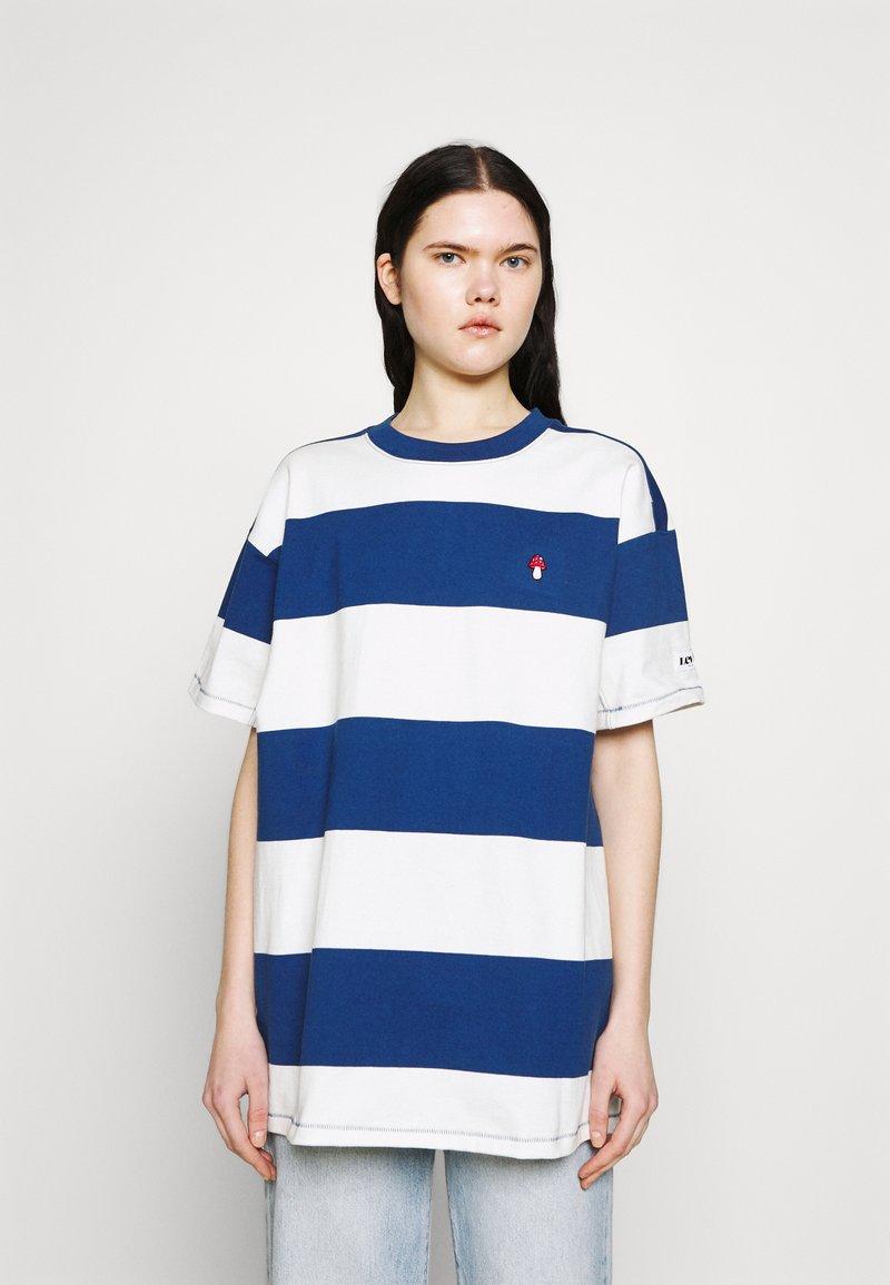 Levi's® - HEAVYWEIGHT ROADTRIP TEE - T-shirt con stampa - alyssa/estate blue