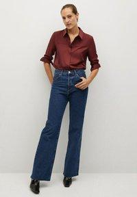 Mango - BIMA - Button-down blouse - bordeaux - 1