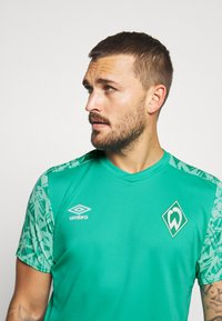 Umbro - WERDER BREMEN TRAINING - Club wear - spectra green/ice green - 3