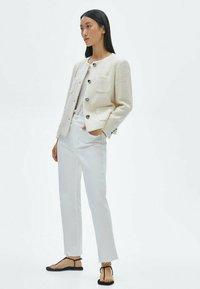 Massimo Dutti - Summer jacket - beige - 1
