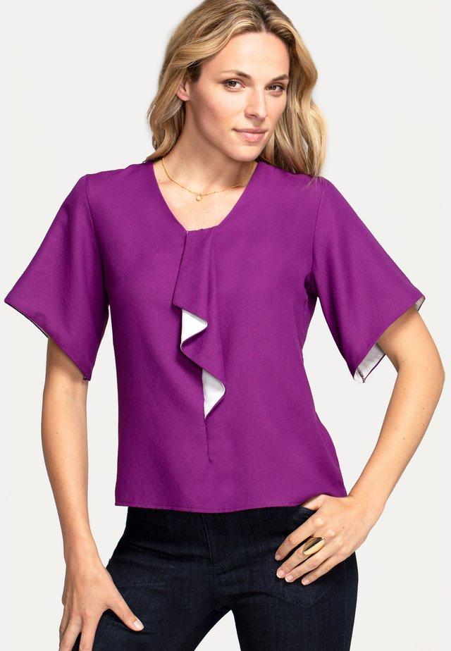 Bluzka - purple