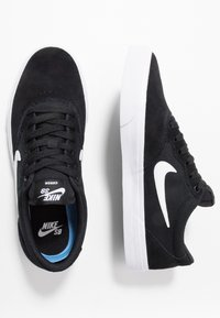 Nike SB - CHRON SLR - Trainers - black/white - 1