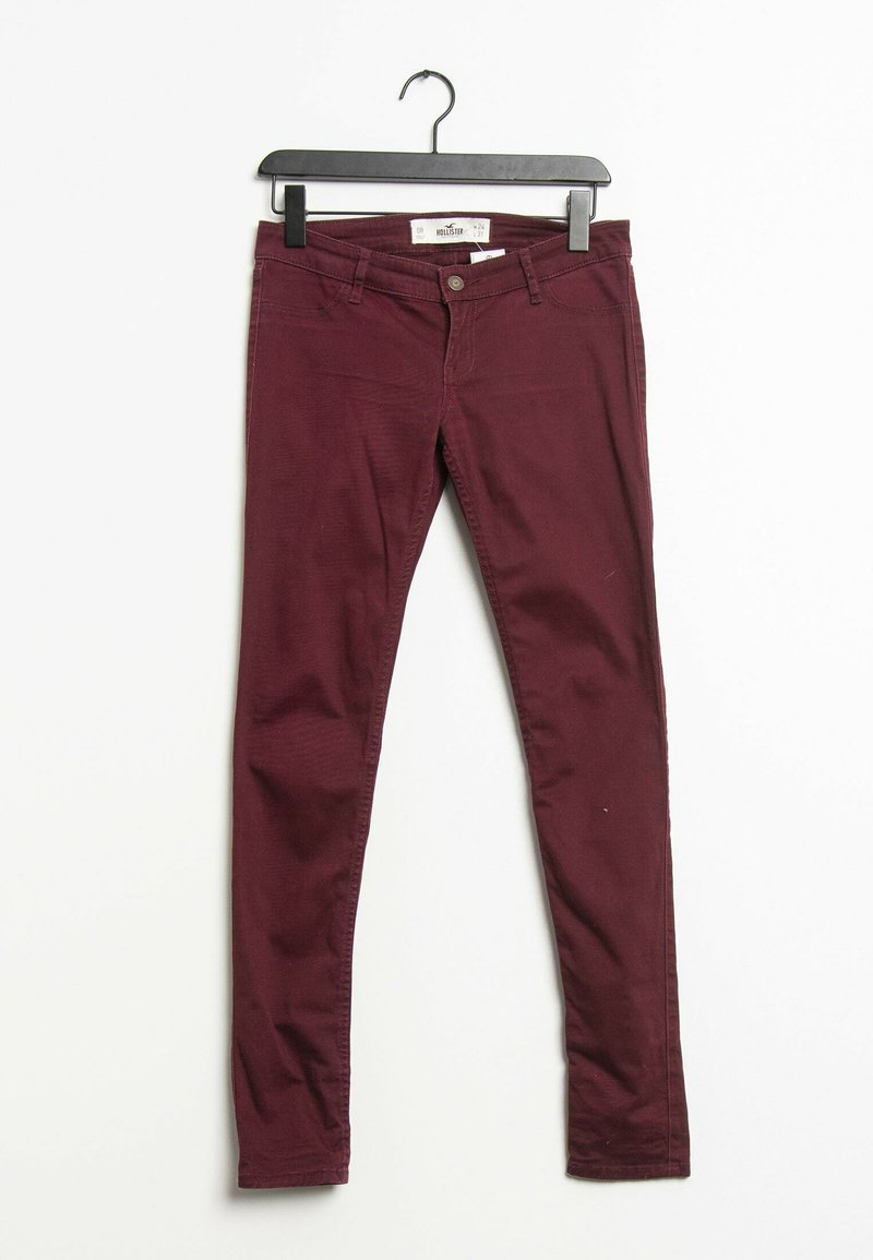 Hollister Co. - Jeans Skinny Fit - red