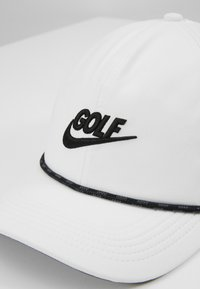 Nike Golf - AROBILL ROPE UNISEX - Cap - white/anthracite/black - 2