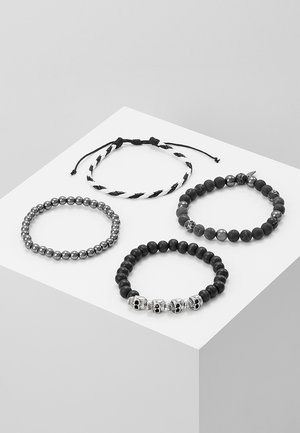 TRY HARD COMBO 4 PACK - Bracelet - black