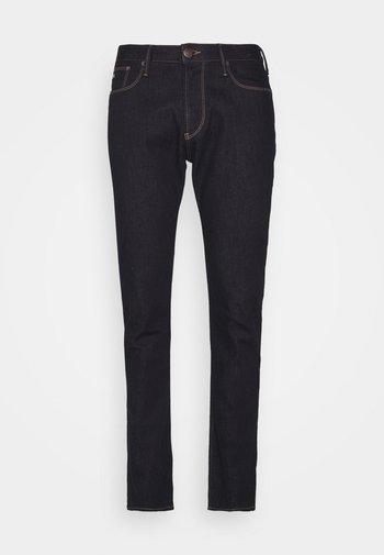 POCKETS PANT - Jeans Slim Fit - denim blu