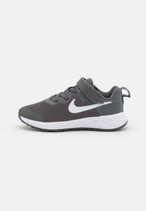REVOLUTION 6 NN UNISEX - Neutral running shoes - iron grey/white/smoke grey