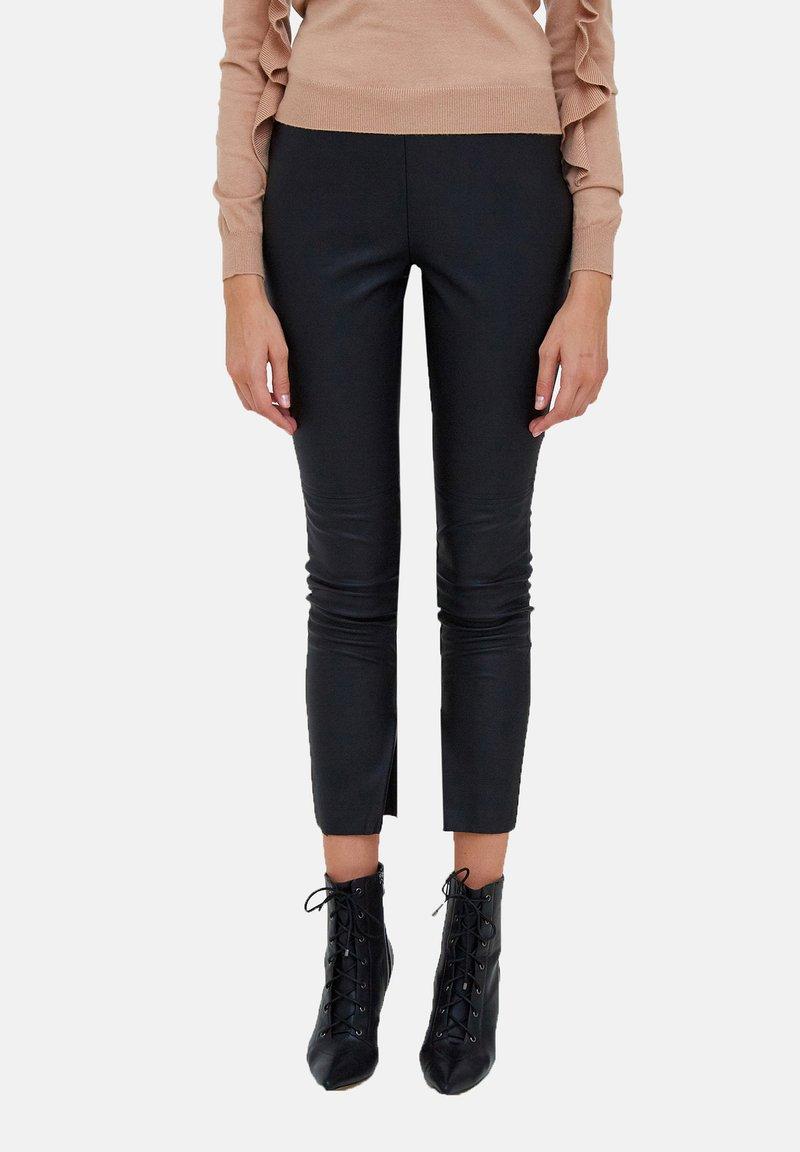 Motivi - Trousers - nero