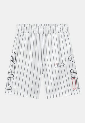 JAMIEL STRIPED SPORTY - Shorts - bright white