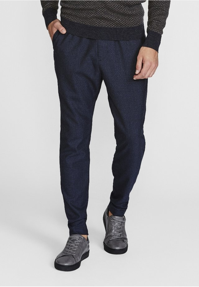 GARCIA SLIM FIT - Trousers - navy