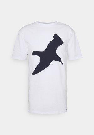 SEAGUL - Print T-shirt - white