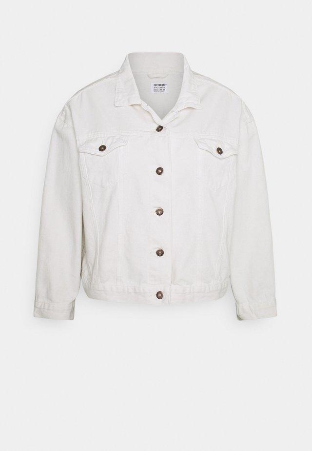 CURVE 90S BAGGY JACKET  - Denim jacket - white haven