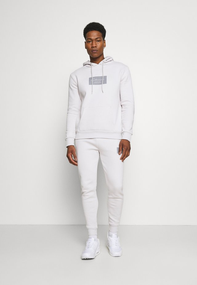 BOX LOGOTRACKSUIT SET - Träningsset - white