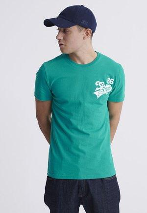 SCRIPT CLASSIC  - Print T-shirt - lapis