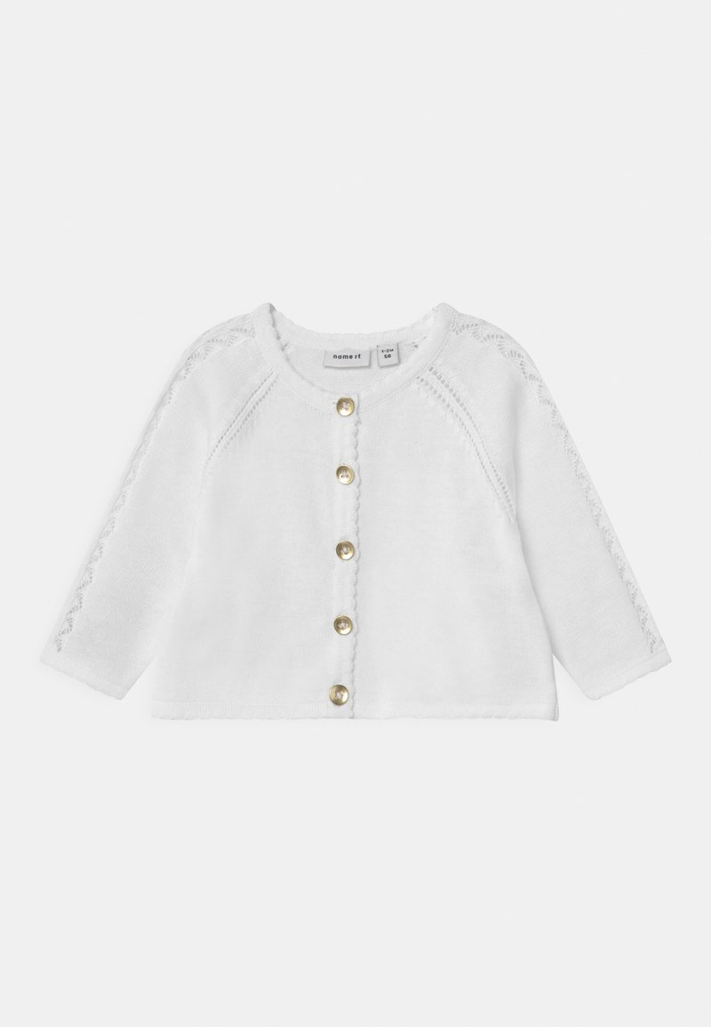 Name it - NBFHILIA - Strickjacke - bright white