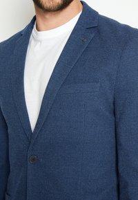 TOM TAILOR - DOBBY - Sako - blue - 7