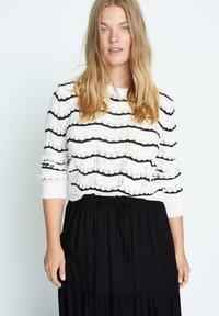 Violeta by Mango - SUMMER - A-line skirt - schwarz - 3