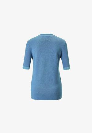 Basic T-shirt - rauchblau