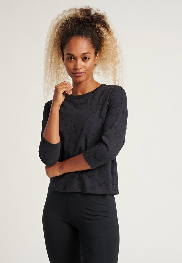 SELLY - Long sleeved top - black