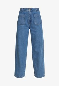 WIDE LEG - Jeans relaxed fit - light drape