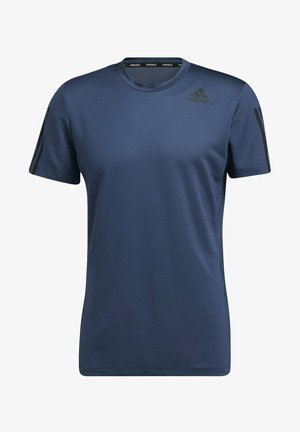 AERO3S DESIGNED4TRAINING PRIMEBLUE - T-shirt med print - blue