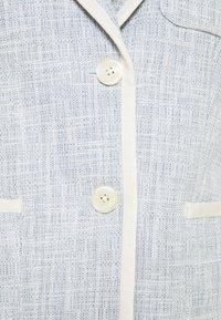 Lauren Ralph Lauren - TEXTURED JACKET - Blazer - dust blue - 6