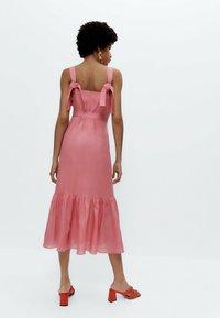 Uterqüe - MIT TUPFEN - Day dress - pink - 2