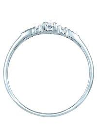 DIAMORE - RING VERLOBUNGSRING DIAMANTEN (0.14 CT) 585 WEISSGOLD - Ring - silver-coloured - 4