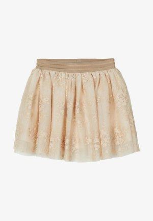 A-line skirt - peyote