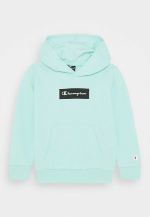 AMERICAN PASTELS HOODED UNISEX - Collegepaita - light blue